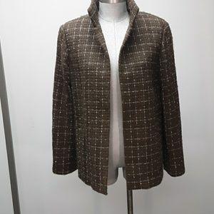 Ellen Tracy tweed jacket